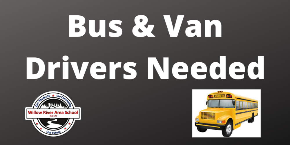 Now Hiring: Bus & Van Drivers