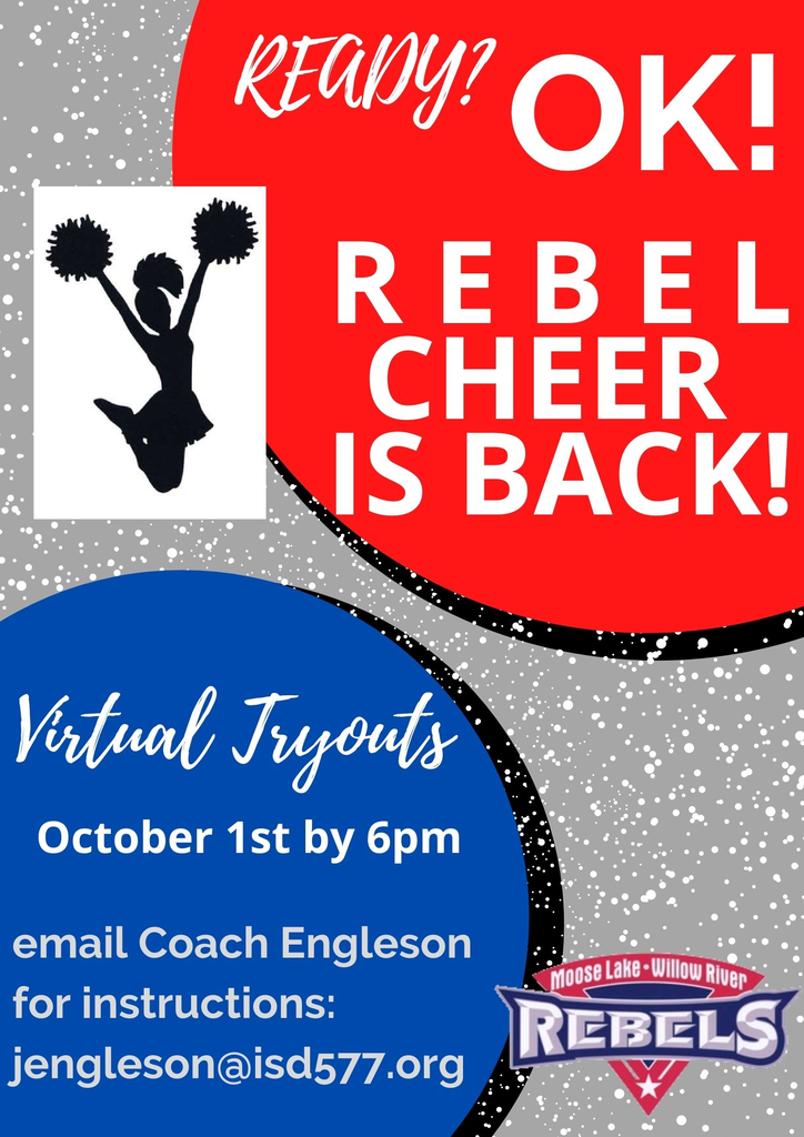 Virtual Tryouts for Cheer