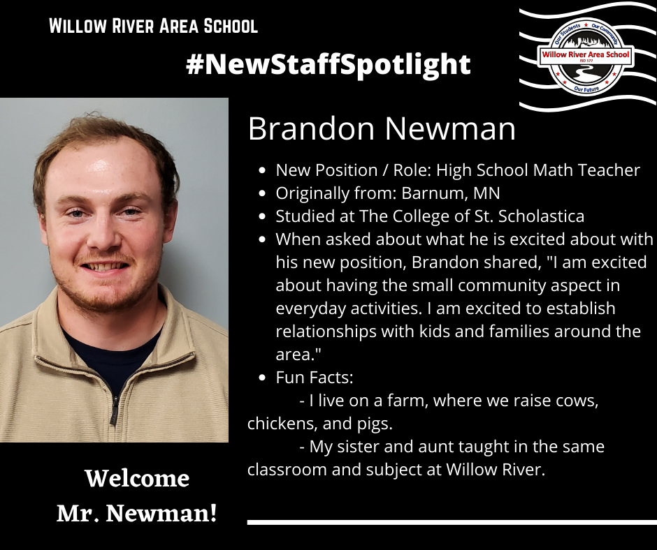 New Staff Spotlight