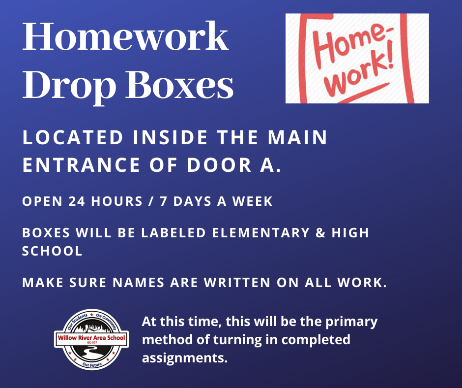 Homework Drop Box