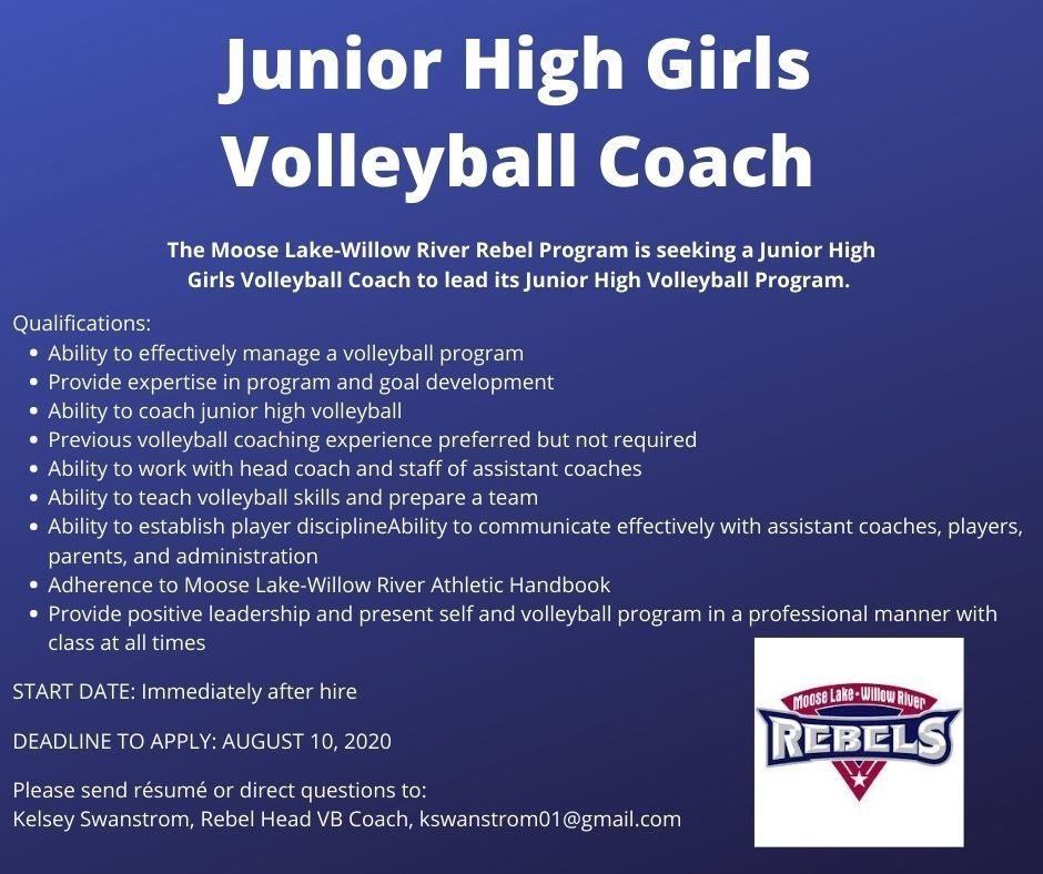 Volleyball Coach Posting